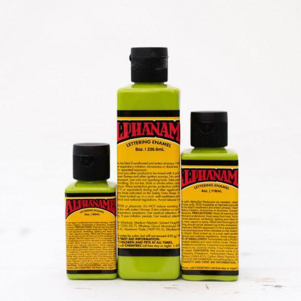 Alphanamel DOUG DORR'S GREEN paint for pinstriping