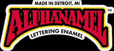 Alphanamel logo